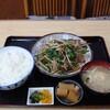 保志奈食堂 - 料理写真:レバニラ炒め定食
