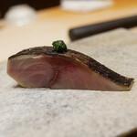 鮨 由う - ☆〆鯖炙り(^o^)丿☆
