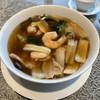 梨杏 - 料理写真:五目入りあんかけスープそば