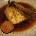 魚料理 ろっこん - 煮魚御膳、今日は大きな鯖でした