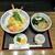 手打麺匠 ぎんざん - 料理写真:天丼セット