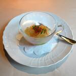 アンティヴィーノ - ホタテと旬野菜の・・トマト・ジュレ