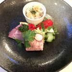 花の森クラリス - 料理写真:前菜盛り合わせ【花の森クラリス】