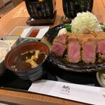 gyuukatsumotomura - 牛かつ&タンかつ定食