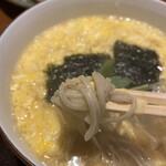 そば処 卓 - 温かいお蕎麦はお出汁が秀逸!!!(ノシ`>∀<)ノシ