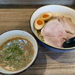 151873771 - 味玉濃厚煮干しつけ麺 大 950円