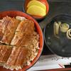 うなふじ支店 - 料理写真:並丼 1550円 肝吸い、漬物付