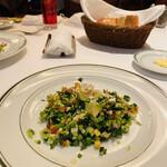 151877669 - 大好きなチョップドサラダ(๑´ڡ`๑)これだけでも食べに来たい♡