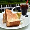関口フランスパン - 料理写真:【モーニングセット@税込500円】トースト:ハニー&バター