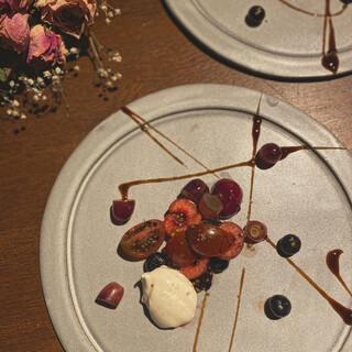 「色」で旬を楽しむ一皿《ワントーンサラダ》
