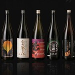 炭火焼料理専門店 和元 - ドリンク写真:厳選された様々な味わいの日本酒