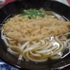 たつみや - 料理写真:天ぷらうどんの天ぷらは、ほぼ衣です。