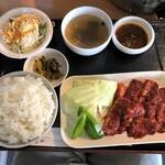 焼肉ゆらの - 料理写真:ハラミ焼き肉ランチ