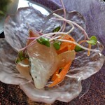 ラ ヴォワール - 前菜 鯛マリネ