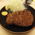 寿々屋 - ロースかつ定食(上)1785円