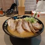 さっぽろラーメン 桑名 - ネギ味噌チャーシュー、1,450円。