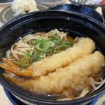 はま寿司 - えびの天ぷらそば 286円