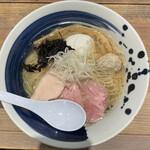 麺屋 翔 みなと - ■真鯛と貝の特製塩らーめん¥1130