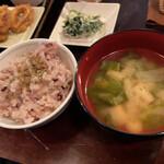 くるみの木 - お味噌汁美味しい〜〜