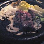 1519345 - お肉(暗くてスイマセン)