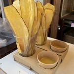 小江戸おさつ庵 - ディップ芋とソースは塩バター