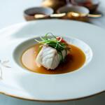 広東料理 センス - 沖縄産東星ハタの葱生姜蒸し