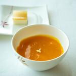 広東料理 センス - マンゴープリン ミルクプリン、生姜のゼリー