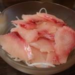 町田うなぎ店 - 鯉のあらい