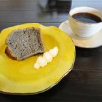 きいぶし - 本日のケーキときいぶしブレンド(350円+400円)