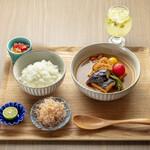 京のSAKESORA - 数量限定ランチ(おばんざいスープカレー)