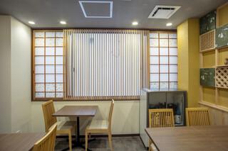 京のSAKESORA - 2階テーブル席