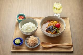 京のSAKESORA - 土日限定ランチ(おばんざいスープカレー)