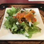 炭焼ハンバーグ 牛船 - サラダ