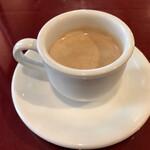炭焼ハンバーグ 牛船 - 食後のコーヒーも付いてます