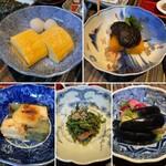 柚子屋旅館 - おかず5種