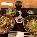 けやき亭 - 丼ぶりランチ(白えびかき揚げ丼)❗️
