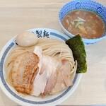心の味製麺 - 特製 濃厚豚骨魚介つけ麺