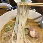 風土木 - 麺はコシもあってけっこう重い