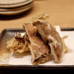 天ぷらと日本酒 明日源 - 舞茸、椎茸