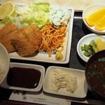戎家 - 魚フライ定食
