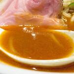 麺 TOKITA - スープ