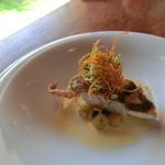 五風十雨 - 天然真鯛のポワレ、シャンパンを使ったブールブランソース
