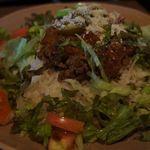 15193958 - タコライス。レタス多めでとてもシャキシャキ!美味しいです。
