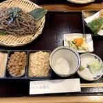 そば うどん 田八 - 料理写真:田八三昧餅セット