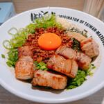 麺屋はなび - 料理写真:ど肉台湾まぜそば