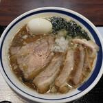NAKAGAWA わず - おしょうゆ(たまご・肉肉肉トッピング)♪