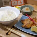 サケトサカナ - 鮭のハラス定食