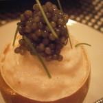 モンプチコションローズ - たまごの中の蟹のムース