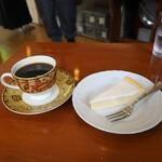 カフェベルニーニ - ニューギニア+チーズケーキ