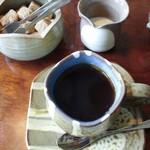 パル - ドリンク写真:コーヒー(おせんべいが付きました)
